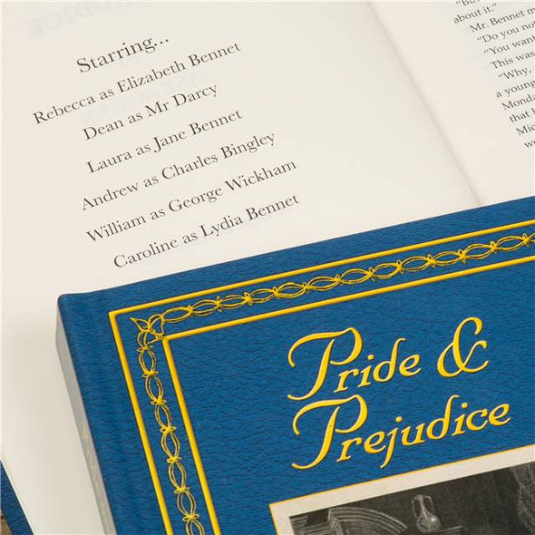 Personalised Pride and Prejudice Hardback - by Jane Austin - PersonalisedGoodies.co.uk