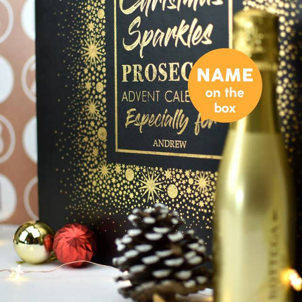 Personalised Prosecco Advent Box