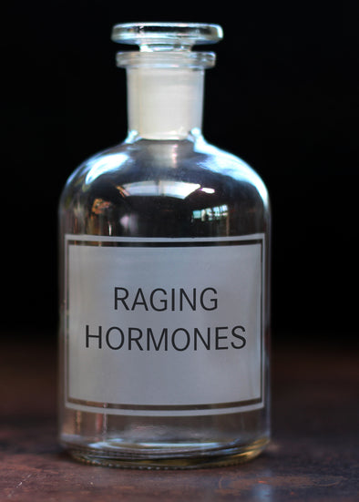 Raging Hormones Reagent Bottle - PersonalisedGoodies.co.uk