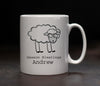 Personalised Season Bleatings Mug - PersonalisedGoodies.co.uk