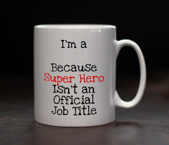 Personalised Superhero Mug - PersonalisedGoodies.co.uk