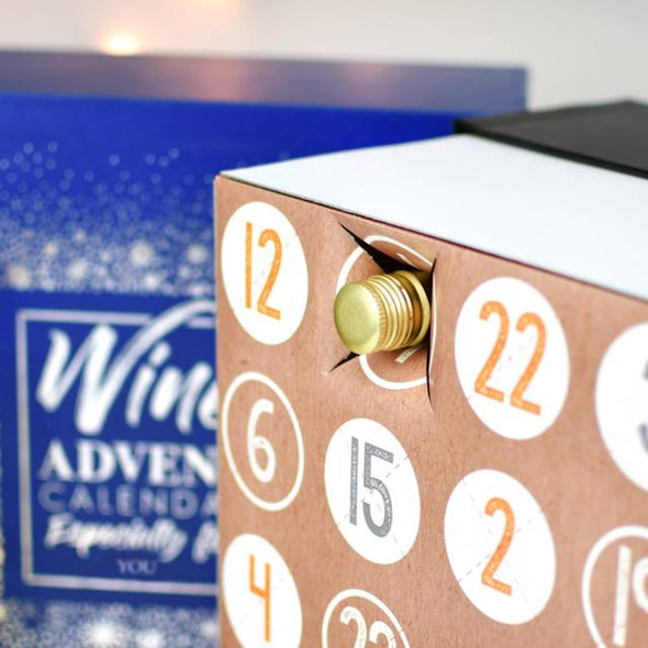 Personalised Wine Advent Box