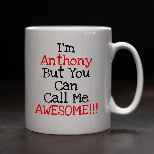 Personalised Awesome Mug - PersonalisedGoodies.co.uk