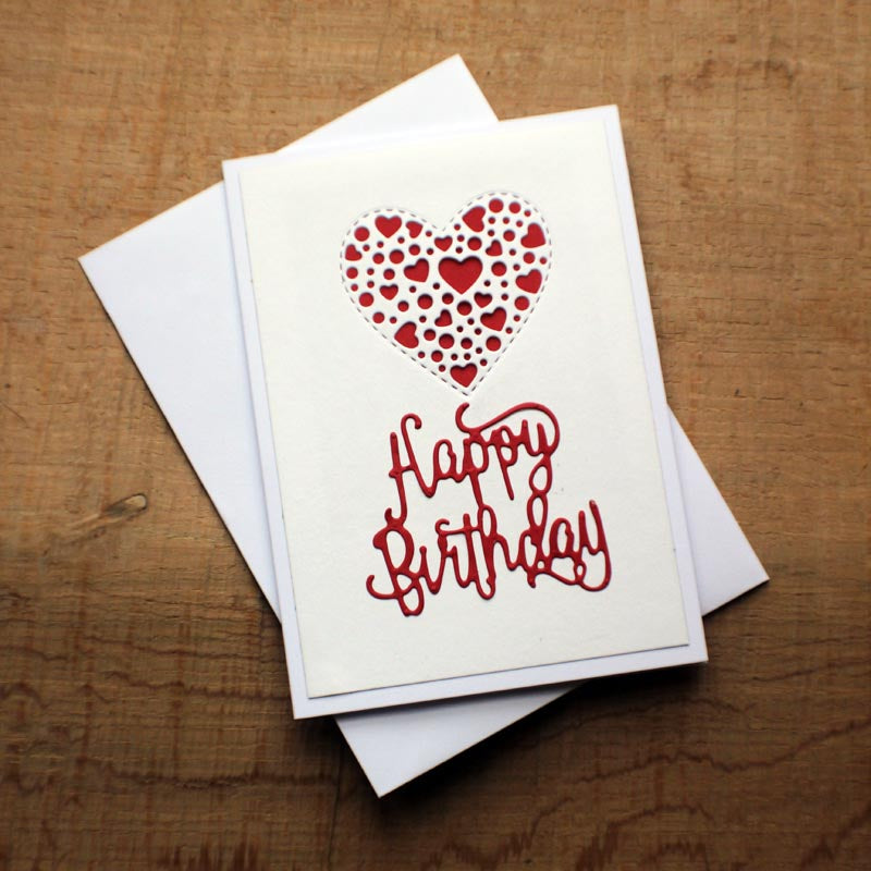 Fabulous Happy Birthday Hand Made Greeting Card Personalisedgoodies Co Uk Personalised Birthday Cards Rectzonderlifede