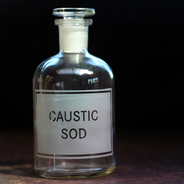 Caustic Sod Reagent Bottle