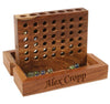Personalised Wooden Travel Marble Game (Fairtrade Product) - PersonalisedGoodies.co.uk
