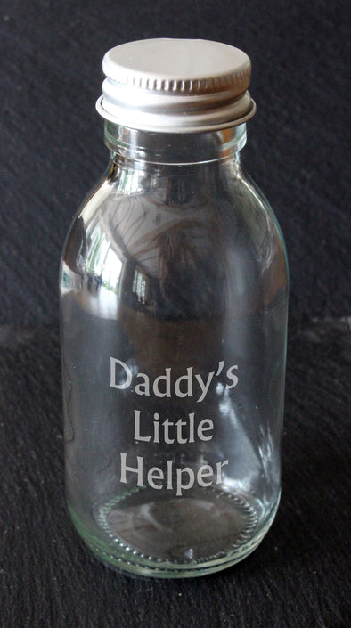Daddy's little helper 100ml bottle - PersonalisedGoodies.co.uk