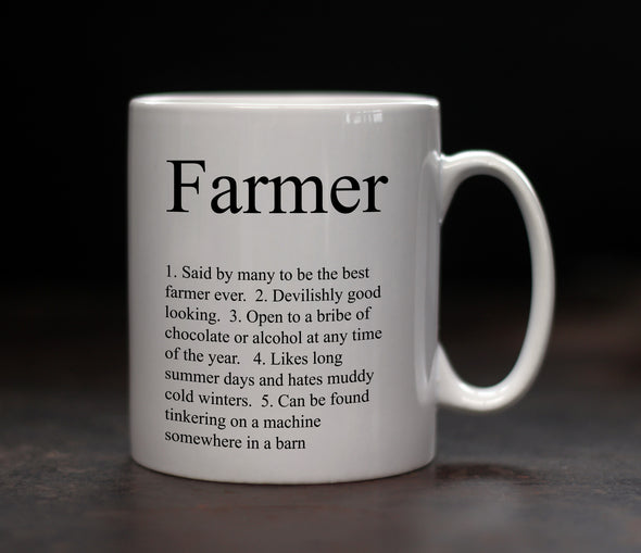 Personalised Farmer Mug - PersonalisedGoodies.co.uk