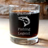 Personalised Fishing Glass Tumbler