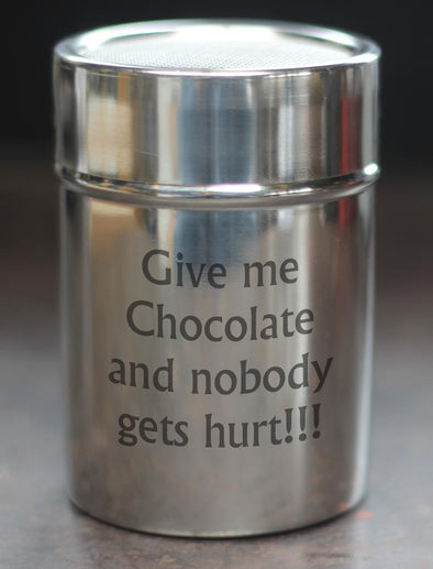 Give me Chocolate Chocolate Shaker