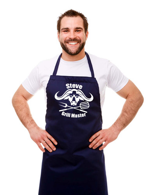 Personalised Grill Master Apron
