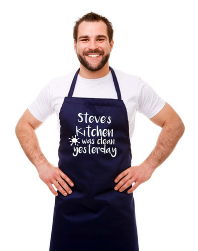 Personalised Kitchen Chef Apron
