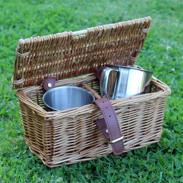 2 x Personalised Metal Tumbler Hamper