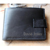 Personalised Mens Leather Wallet