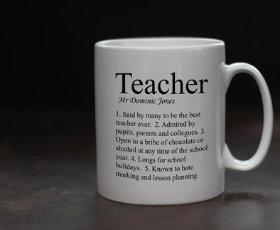 Personalised Teacher Mug - PersonalisedGoodies.co.uk