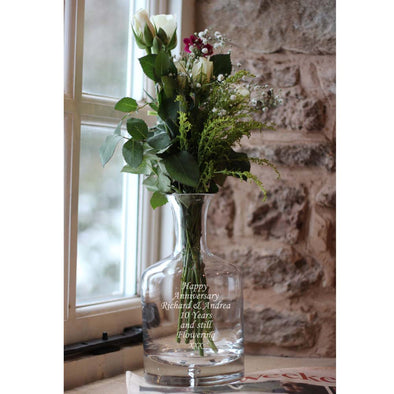 Personalised Decanter Vase