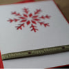 Happy Christmas Hand Made Greeting Card