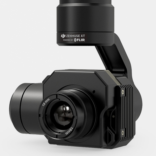 DJI Zenmuse XT Thermal Imaging Camera and 3-Axis Gimbal