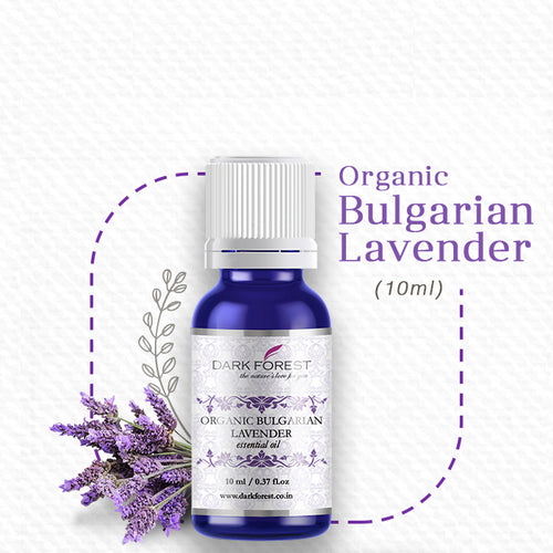Organic Bulgarian Lavender Essential Oil - 10ml