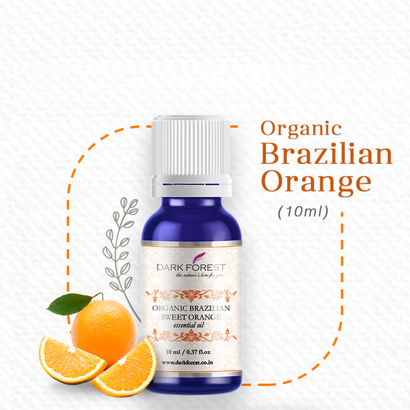 Organic Brazilian Orange Essential Oil - 10ml
