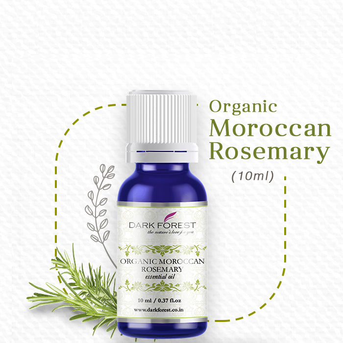 Organic Moroccan Rosemary Essential Oil - 10ml