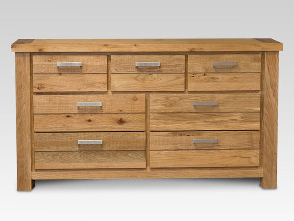 Di Marco Oak 3+4 Assembled Chest of Drawers
