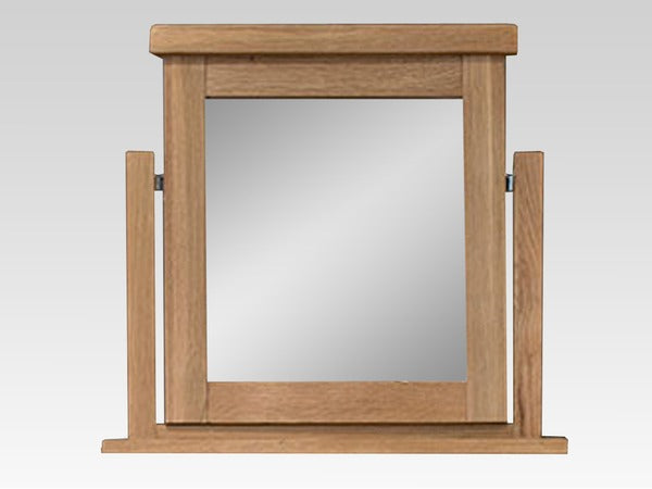 Di Marco Oak Dressing Table Mirror - ImagineX Furniture & Interiors