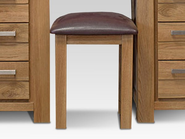 Di Marco Assembled Oak Stool - ImagineX Furniture & Interiors