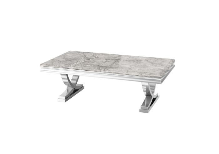 Torelli Maria Grey 120cm Marble Coffee Table - ImagineX Furniture & Interiors