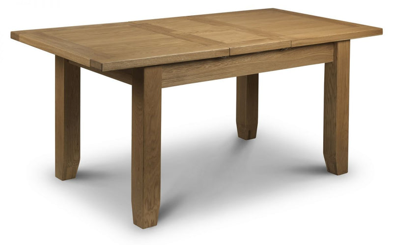 Julian Bowen Astoria Extending Oak Dining Table - ImagineX Furniture & Interiors