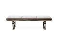 Arianna 180cm Plush Soft Velvet Dining Bench - 3 Colours - ImagineX Furniture & Interiors