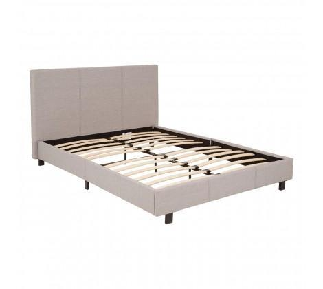 Napoli Light Grey King Size Bed Frame - Modern Home Interiors