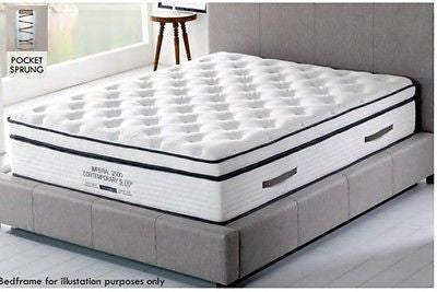 Kensington Super Luxury 2500 Pocket Sprung Mattress In 4 Sizes - ImagineX Furniture & Interiors