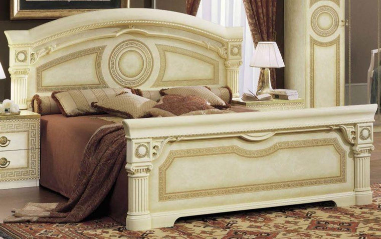 Aida Italian King Size Bed Frame