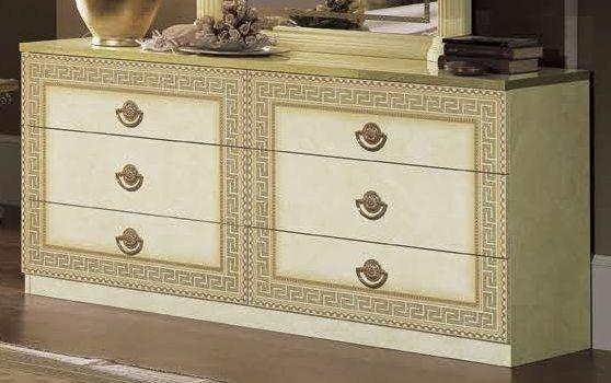 Aida Italian 6 Drawer Double Dresser