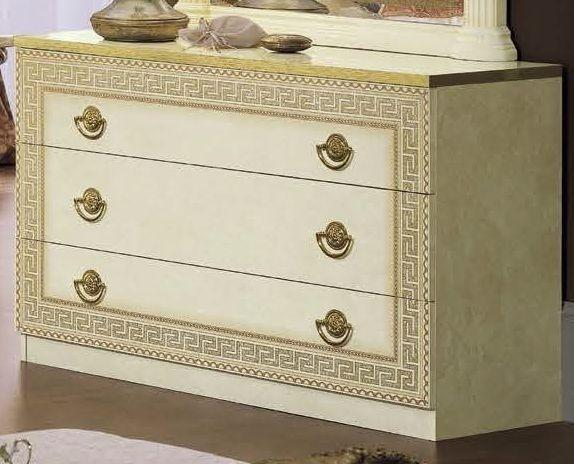 Aida Italian 3 Drawer Single Dresser