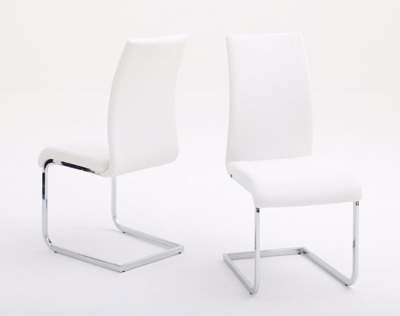 Prima Leather Dining Chair In 4 Colours - Padded Chair - ImagineX Furniture & Interiors