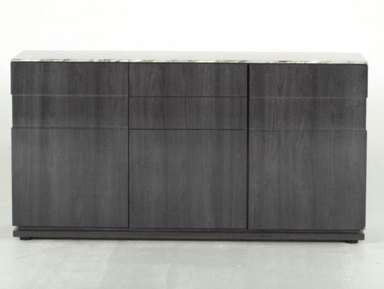 New Stunning Donatella Grey Marble Sideboard
