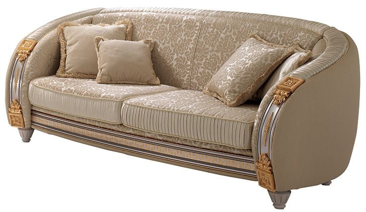 Liberty Italian 3 Seater Fabric Sofa