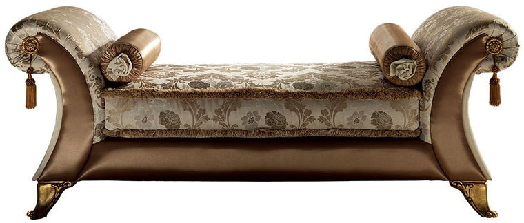 Liberty Italian Fabric Chaise Vittoria Longue