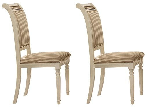 Liberty Italian Fabric Dining Chair (Pair) - ImagineX Furniture & Interiors