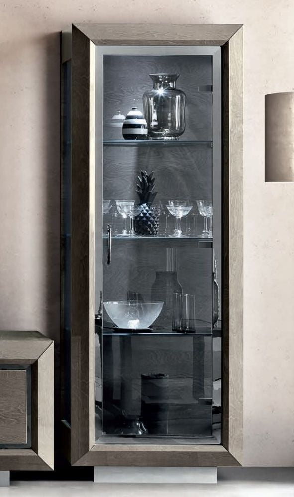 Camel Elite Day Italian 1 Door Vitrine Display Cabinet