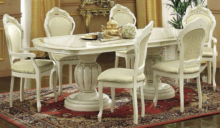 Leonardo Italian Extending 185-230cm Dining Set