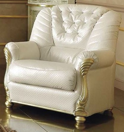Leonardo Italian Leather Armchair