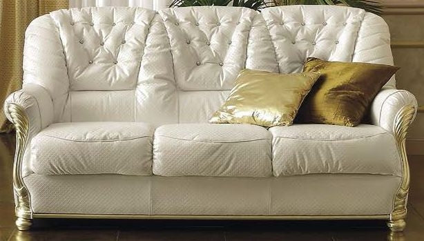 Leonardo Italian Leather Sofa - Full Range - ImagineX Furniture & Interiors