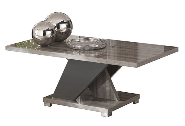 Glamour Grey Walnut Coffee Table - ImagineX Furniture & Interiors