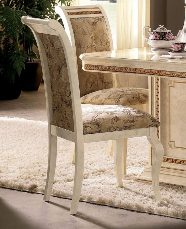Leonardo Italian Fabric Dining Chair (Pair) - ImagineX Furniture & Interiors