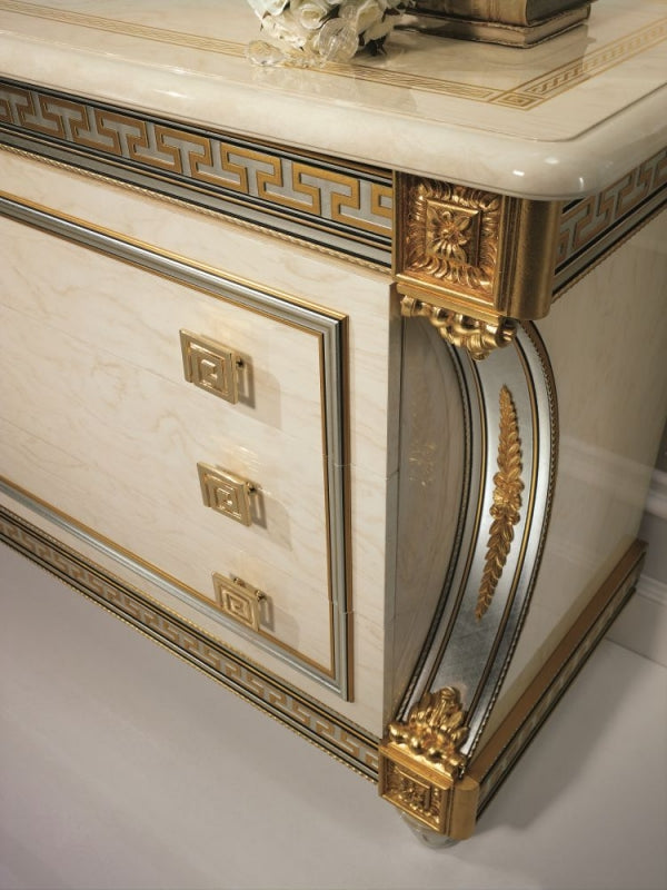 Liberty Ivory with Gold Italian Dresser - ImagineX Furniture & Interiors