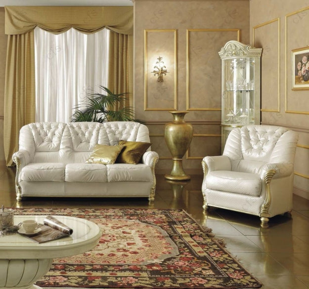 Leonardo Italian Leather Sofa - Full Range
