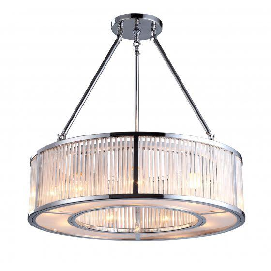 RV Astley Aston Nickel Ceiling Light
